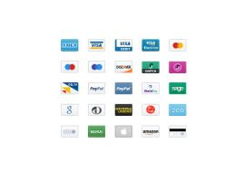 Credit Card Icons 2 by FreeIconsdownload