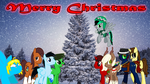 Christmas Card Oc Collab by DigiRadiance
