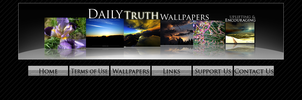 DTW banner and button concept by dailytruthwp-dot-com