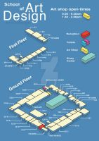 College Map by DanB-Graphic-and-Web