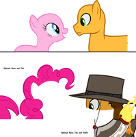 Base #68- Pinkie Pie and Cheese Sandwich by InfinityBases