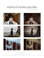 Mystical stories psd-files by Nimfale