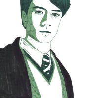 Tom Marvolo Riddle by suninthedark