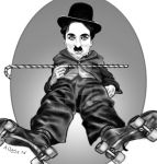 Chaplin (The Rink) by adavis57