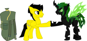 See you later buddy.     (please read description) by Invader-Matt