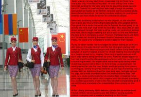 Chinese Stewardess tg cap by demisword
