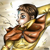 Aang in the Spring by Englehart