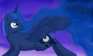 One With The Night by Cloudy-Dreamscape