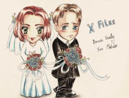 X Files chibi by SirSubaru