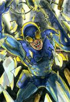 Blue Beetle Commission by DKuang
