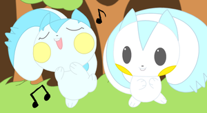 Pachi Pachi and KeeKee dance by drill-tail