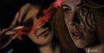 Black Widow and Scarlet Witch by Saryetta86