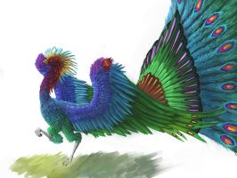 Pava the king of colors by Theocrata