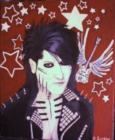 Ashley Purdy: Bassist of Black Veil Brides by ZetaRinoa101