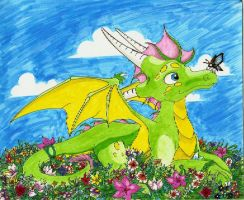 Flora and the Flowers by Luxray-Insanity