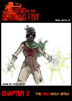 burning fist capitulo 2 cover by caballero-rauru