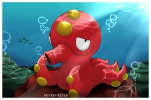 Pokemon : Octillery by MayaIdanan