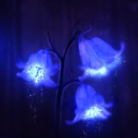 Fairy Lights Blue Bells by Nejija