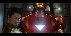 Iron man tribute by jamga