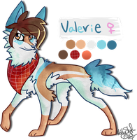 Valerie -New OC- by rainyfurz