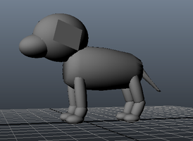 WIP: 3D Puppy by groundhog22