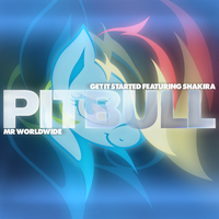 Pitbull / Shakira - Get It Started (Rainbow Dash) by AdrianImpalaMata