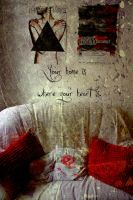 Home is, where heart is. by CorinnD