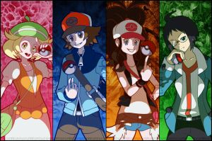 PKMN: Trainers by sheenaduquette