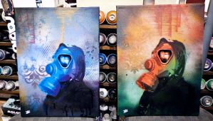 Contribution to -Flood the streets with art- by Burgi687