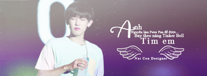 Chanyeol Cover Facebook by bonmeoconcute