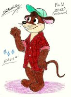 Field mouse! (unknown) by SagaFantasticArt30