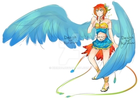 Adopt 003: Bird of Paradise [CLOSED] by kirimuu
