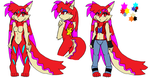 amy red form Vixen by madiletheart
