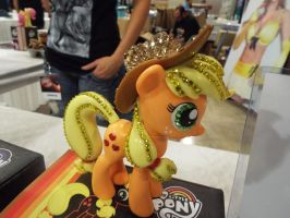 ( MLP ) Jeweled Funko Applejack Toy by KrazyKari