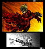 Fancomic - Vash's New Ammo by spookydoom