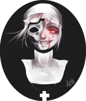 +Dale the nun+ by kittysophie