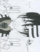 Death the Kid-Soul Eater by uchihaxchick
