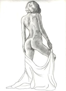 1 hour figure drawing by dawberdesigns