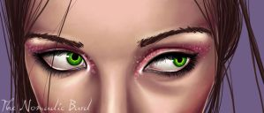 .. Green Eyes .. by sarahmoule