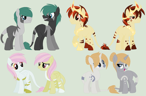 .:Reference Sheet:. | Conjoined Babes by ToxicWheezing