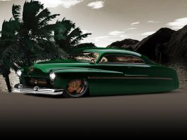 1951 Mercury Coupe by remingtonbox
