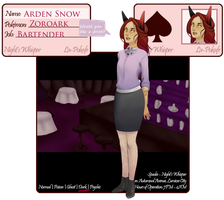 La-Pokafe Application: Arden Snow by Labalamps