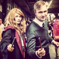 Hermione and Draco by Shourei