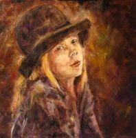 girl in the hat by ENERGIA1