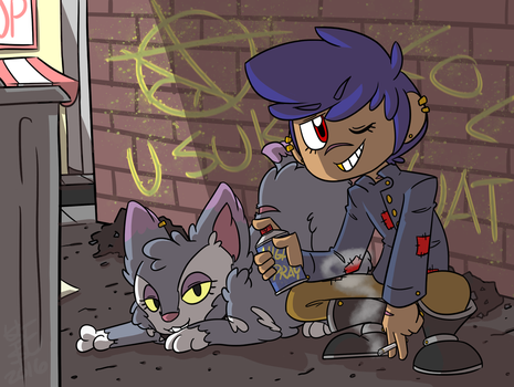 PTS COMM: Nikola and Pepsi by SystemEmotions