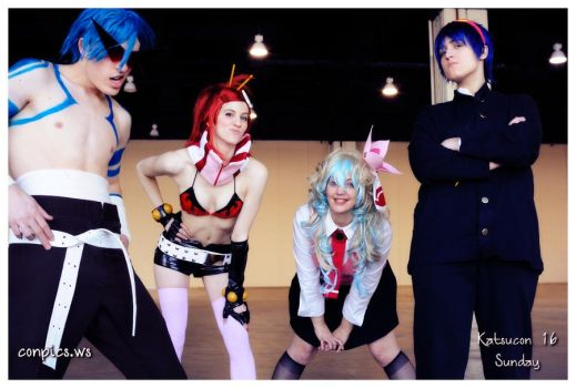 TTGL - Scream from Underground by cafe-lalonde
