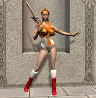 Teela from He-Man by Chup-at-Cabra