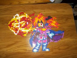Lina Inverse Perler by bahamut6666