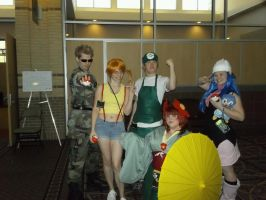 Our Pokemon Group at Anime Blast Chattanooga by BlueEyesMaster