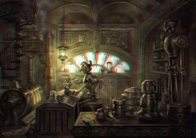The Tin-Tin Maker 3-D conversion by MVRamsey
